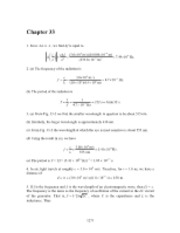 PHY2049 Chapter 33 Solutions
