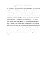 page on reflection Yu Fu.docx