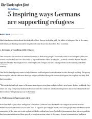 5 inspiring ways Germans are supporting refugees - The Washington Post.pdf