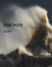 170130Econ2P54W17.Week4+Social+Security.ppt