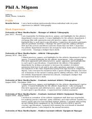 Resume 15 - Phil A. Mignon.doc