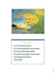 JA Jimenez - Gen Chem II (Chapter 13)
