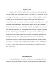 ENGLISH- AQWF Collapse essay