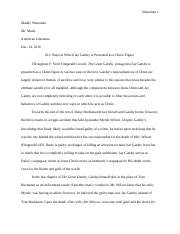 Literature Exam- Longer Essay