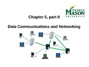 Data Communications and Networking, Part II