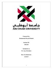 ECO202 Case Study (UAE and GCC Green Economy)