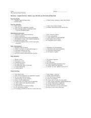 MLA Research Paper Checklist