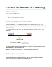 Fundamentals of Microbiology chapter 24