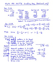 Homework 8 Solution on Fundamentals of Arithmetic