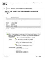 Review Test Submission_ HW09 Financial statement analysis &.
