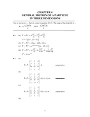 Analytical Mech Homework Solutions 33