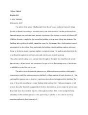 English 100- Article Summary.docx