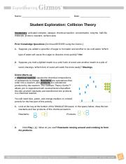 Collision Theory Notes