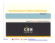 CEHv7 Module 01 Introduction to Ethical Hacking