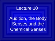Lecture 10 Audition Slides F09