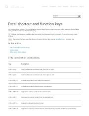Excel shortcut and function keys.pdf