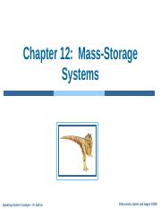 lecture 17 (mass-storage systems)