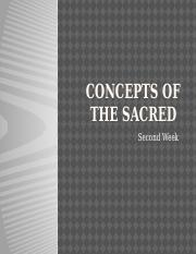 2 The concepts of the sacred and the holy.pptx
