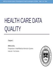 Week_1_Health_Care_Data_Quality_Chapter_2