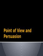 Point of View and Persuasion.pptx