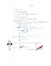 Chapter 3 Notes - Kinematics in Two and Three Dimensions
