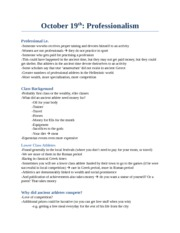CS 2300 Study Notes by Theme -  (10): Professionalism