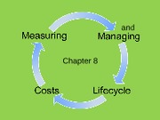 ch 8 measuring and managing life-cycle costs