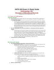 ANTH 402 Exam 1 study guide .docx