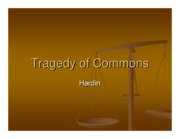 Microsoft PowerPoint - Tragedy of Commons