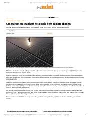 Can market mechanisms help India fight climate change_ - Livemint.pdf