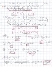 Complex Numbers homework Ch. 5.4
