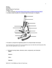 anatomy final exam fall review sheet Anatomy a215 (basic human anatomy) syllabus of information and policies  fall 2018  course director/lecturer: lecturer:  also note the date and time of the fourth exam during final exam week make sure that you do not have  given in class during the review session for lab exam iv total points = 900 (50% from lecture and 50% from lab.