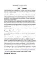 ant102_Unit 7_LectureForagers