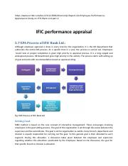 IFIC performance appraisal.docx