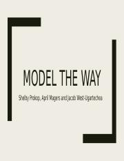 Model the way.pptx