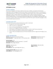 COMM 438 2016W1 Course Outline 2016-09-20