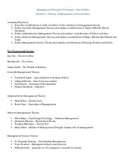 Module 2 History Note Outline