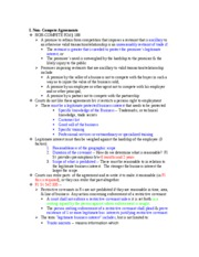 Contract II Outline for Final Exam