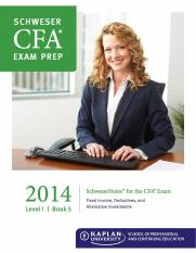 2014 CFA Level 1 Study Note Book5
