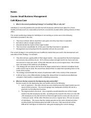 Small Business Management Assignment 3.docx