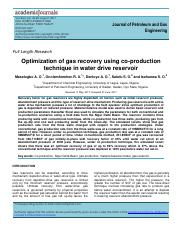 cond 11 - optimation of gas recorvery using co-production.pdf