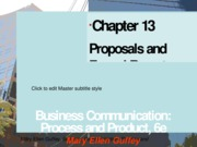 chapter 13 business communications
