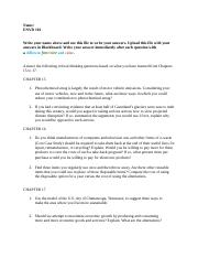 ASSIGNMENT 05. CHAPTERS 15-17 CRITICAL THINKING QUESTIONS.docx
