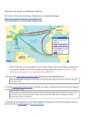 AP TRIANGULAR TRADE and PRIMARY SOURCES.docx