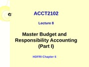 ACCT2102 - Lecture 8