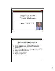 Handout for Regression-Based Tests for Moderation.pdf