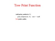 10. Tree Functions