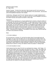 Informative Thesis Statement Examples Speech EXAMPLE OF INFORMATIVE SPEECH OUTLINE Sarah Putnam Outline Topic The