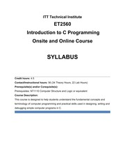 ET2560_55_One Course Model - Syllabus