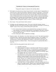 Clauses-in-International-Contracts-Checklist-May.doc